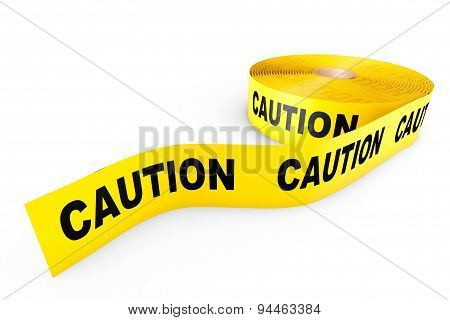 Caution Yellow Tape