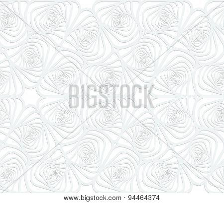 Paper White Twisted Striped Sea Shells
