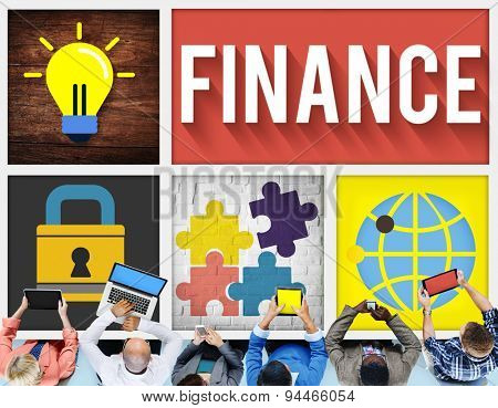 Finance Financial Economy Investment Banking Concept