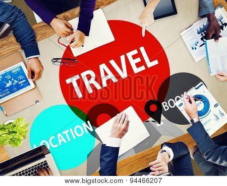 Travel Location Booking Destination Trip Adventure Concept