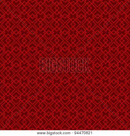 Seamless vintage Chinese window tracery diamond check pattern background.