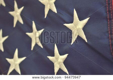 Patriotic Holiday American Flag Background