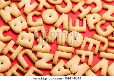 Assorted word cookie