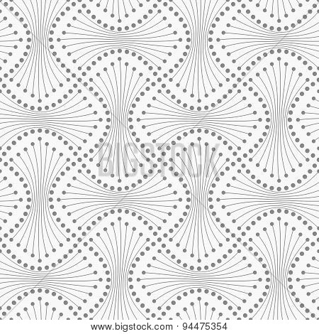 Dotted Spools With Lines