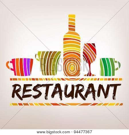 Restaurant Logo Menu Craft
