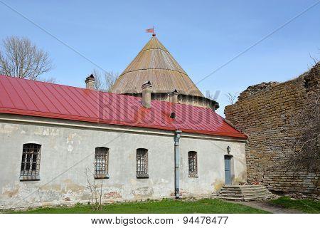 Old Building In Shlisselburg City, Called Secret House