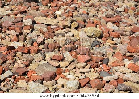 Brick Stones. Picture Can Be Used As A Background