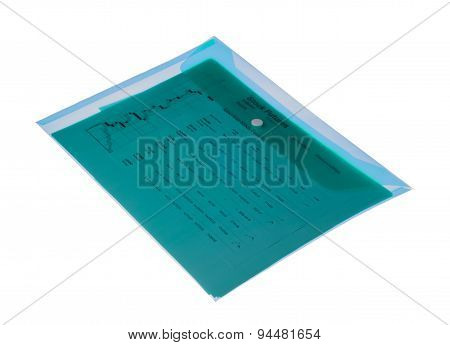 Office Documents Isolated On A White Background