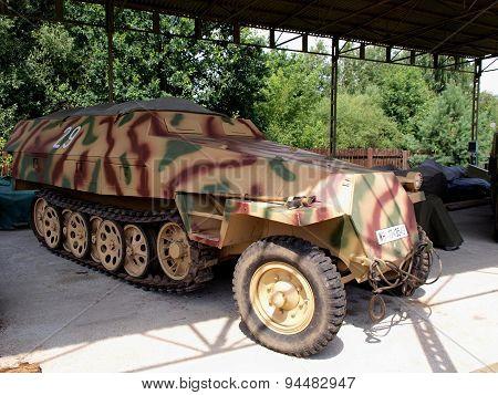 Transporter Wehrmacht.