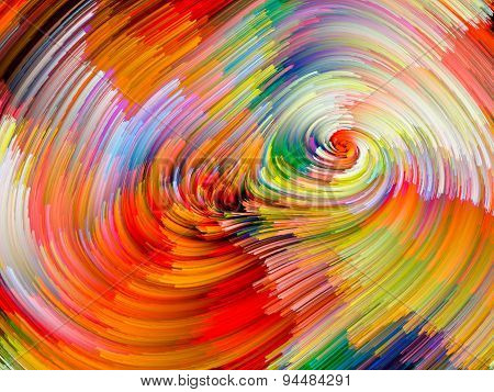 Color Vortex Abstraction