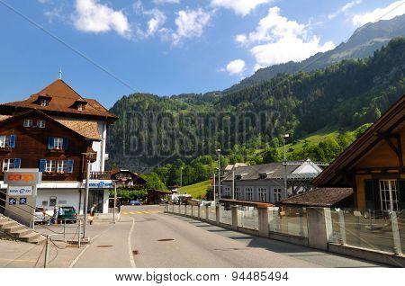 Lauterbrunnen Town
