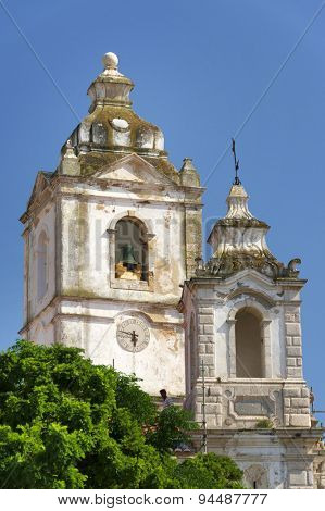 Cathedral in Lagos, Portugal, Europe