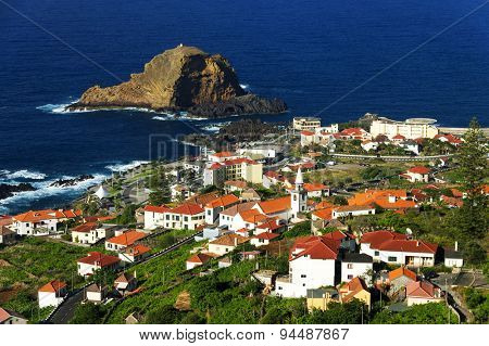 Porto Moniz in Madeira island, Portugal, Europe