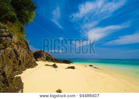 Serene Waters Sunshine Scene