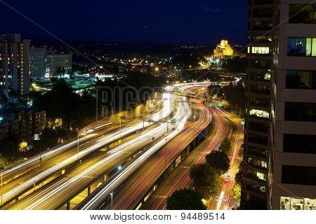 Freeway Motion Blur