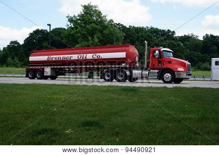 Brenner Oil Company Truck