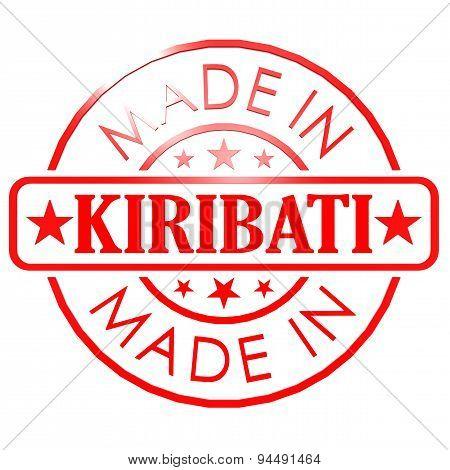 Made In Kiribati Red Seal