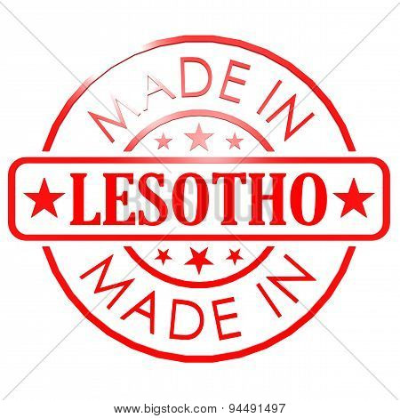 Made In Lesotho Red Seal