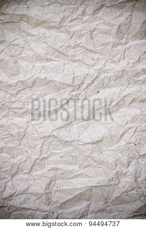 Wrinkle Recycle Paper Texture