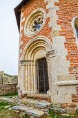 image of chapels  - Chapel and walls on Medvedgrad castle in Zagreb - JPG