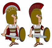 pic of spartan  - Ancient Greek Spartan army  - JPG