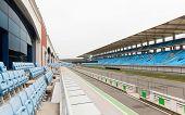 foto of bleachers  - racing - JPG
