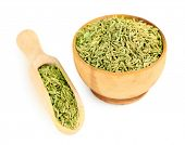 pic of cumin  - Cumin in wooden bowl - JPG