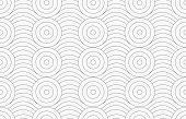 stock photo of merge  - Monochrome abstract geometrical pattern - JPG