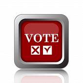foto of voting  - Vote icon - JPG