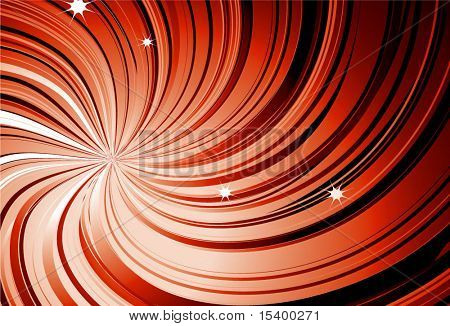 Ray vortex vector background.