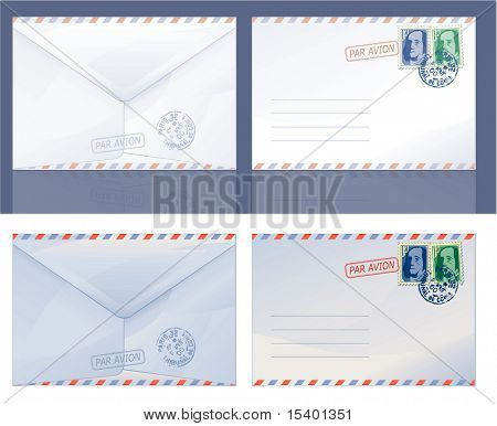 Envelopes. Vector.