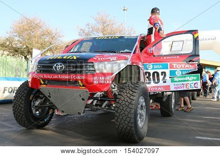 Giniel De Villiers And The New Toyota Hilux Evo 2