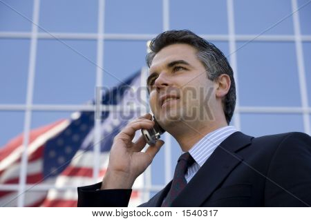 Businessman Outside 6