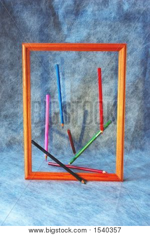 Pencils In A Framework