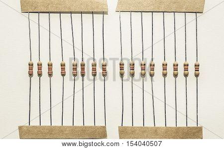 Vintage Looking Passive Resistor