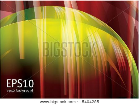 Glowing abstract background. Vector.