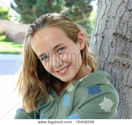 Young Beautiful Smiling Girl
