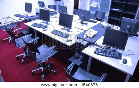 Computers In Press Room