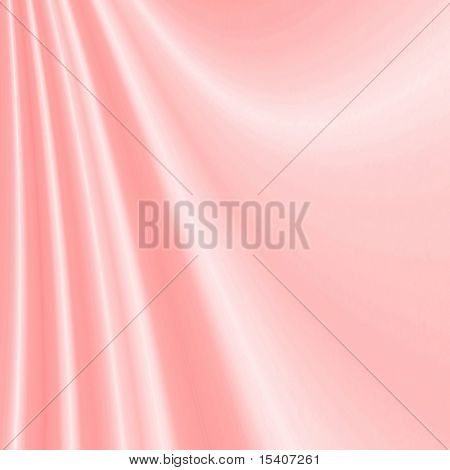Smooth Soft Pink Satin Background