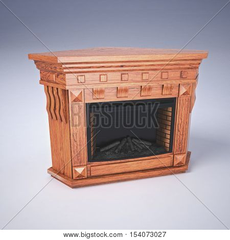 Portal fireplace electric fireplace electric interior wooden furniture corner
