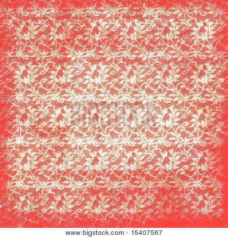 Vintage Lace Valentines  Floral Background