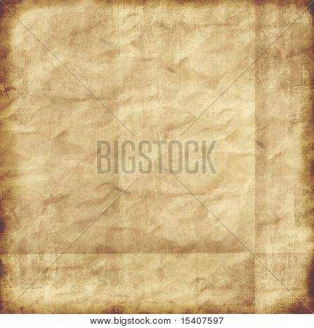 Lienzo de papel envejecido Grunge Vintage