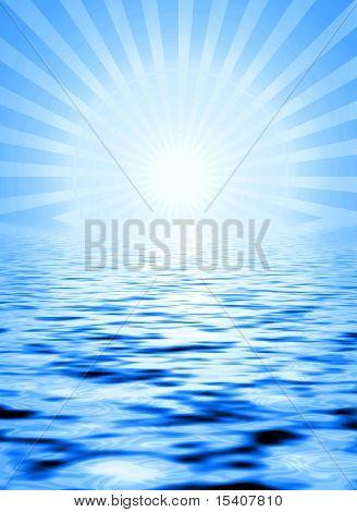 Sunshine auf dem Wasser