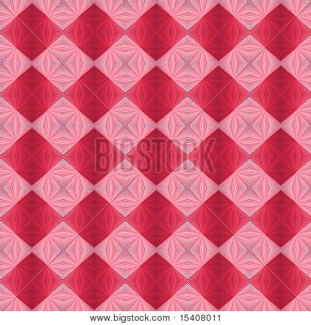 Red and Pink Checkerboard Background