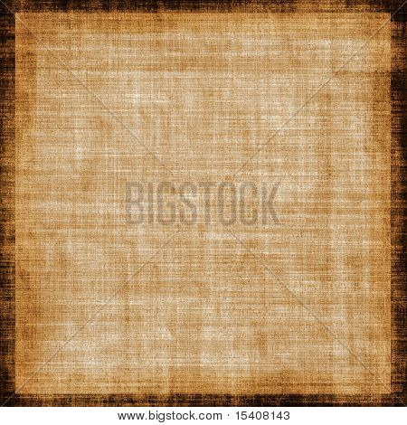 Canvas Weave Burlap Fabric Grunge