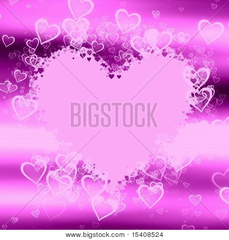 Lilac Hearts