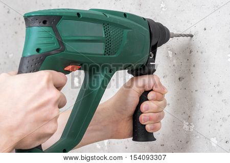 Use Electric Drill