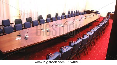 Empty Conference Room
