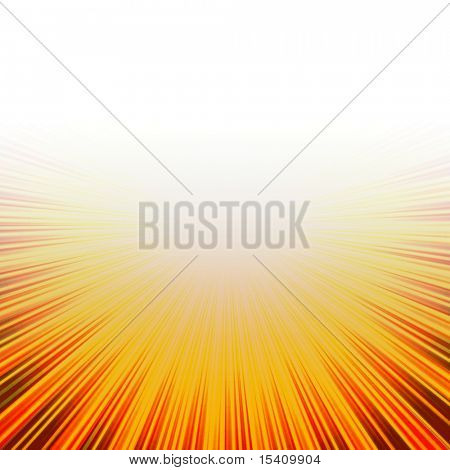 Sunny Hot Burst With Copyspace