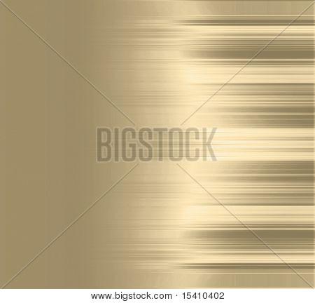 Gold Metallic Stripes Background